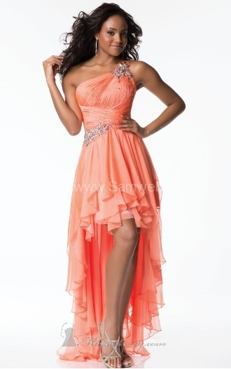 a-line-orange-chiffon-hi-low-strapless-21
